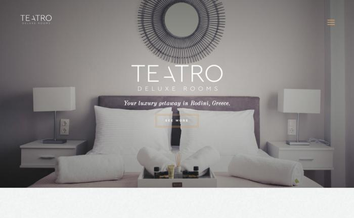 Teatro Deluxe Rooms screen
